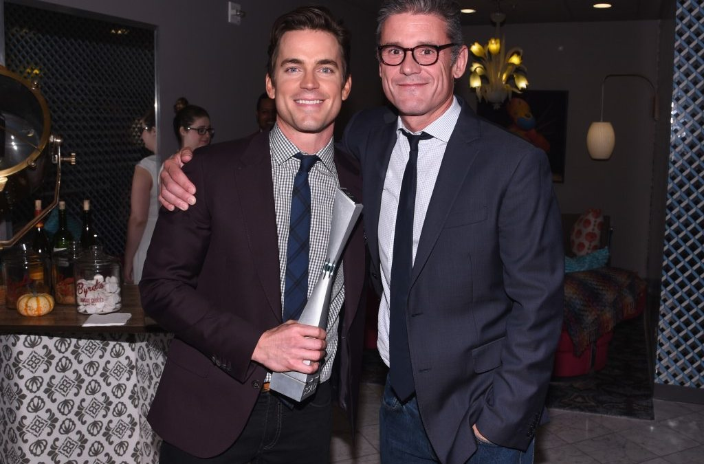 Simon Halls, Matt Bomer Honored at Norma Jean Gala